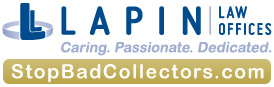 Lapin Law Offices: StopBadCollectors.com